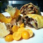 Nutella and banana parcels