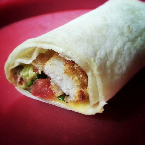 Fish finger wrap