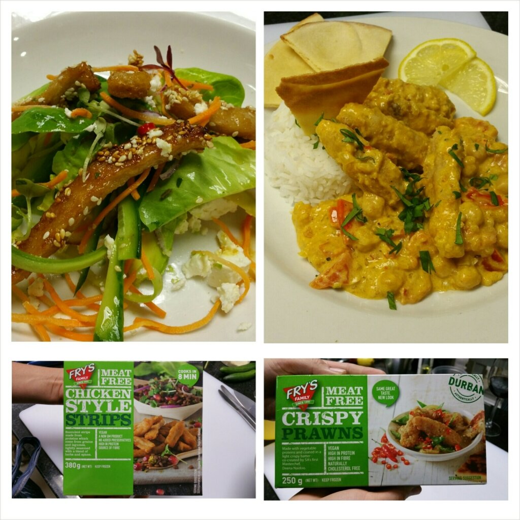 Fry's vegan meat free crispy prawns and chicken strips